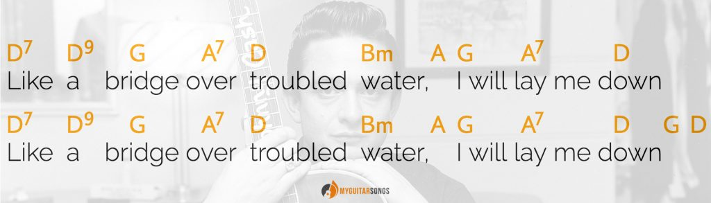 Bridge Over Troubled Water by Johnny Cash